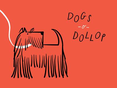 DoD: Scottie scottish terrier dog procreate funny lol sketch doodle illo illustration design