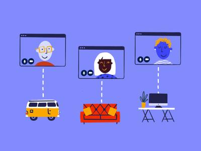 Remote Design Sprints with Miro browser toolbox design tools design tool design kit miro remote work procreate sketch doodle illo illustration design