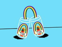 Rainbow Coffee 🌈