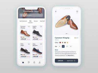 Shopping App simple design ui ux designer web android ios minimal graphic design ecommerce shopping ap shoes app ui design ux design application design colours app design app ux sajon ui