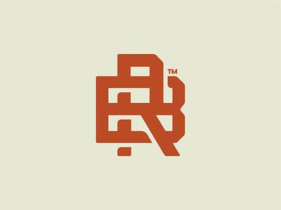 Backroad Classics 4x4 branding classic cars auto monogram design logo