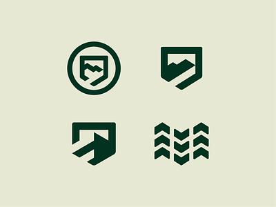 Backroad Classics mark exploration branding minimalist road tire mountain dealership auto 4x4 emblem design logo