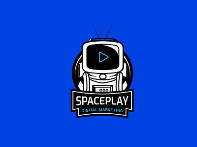 Logo Spaceplay Digital Marketing agency logo logodesign logo