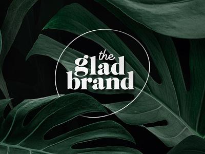 The Glad Brand branding logo design agency logo logo