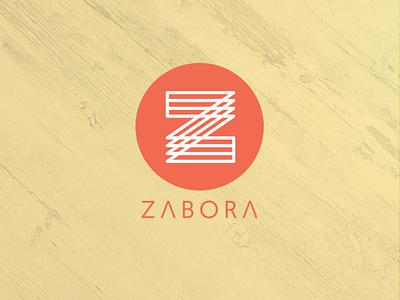 Logo Zabora branding logodesign logo