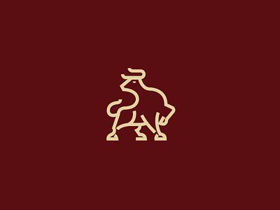 Logo La Tora - Butcher shop branding isotype logo