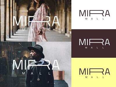 MIRA MALL branding