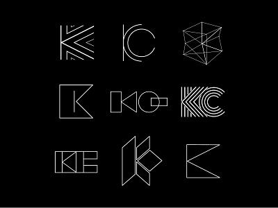 Logo proposals Katiuska Caicedo Architect architect logoprocess logo