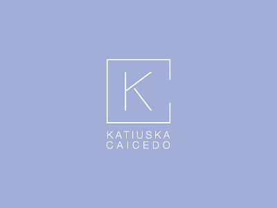 Logo Katiuska Caicedo Architect personalbrand logodesign logo