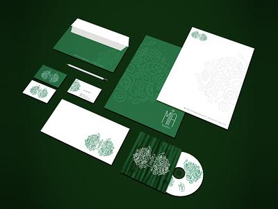MIA Kashire - Branding Stationery logodesign logo branding