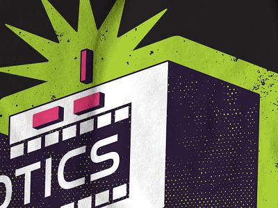 Robotics Club Tee comic vector tee shirt robotics robot