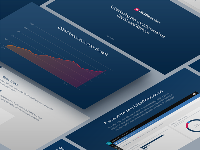 Clickdimensions powerpoint template by joshua krohn dribbble clickdimensions powerpoint toneelgroepblik Image collections