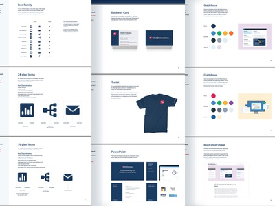 ClickDimensions Brand Guidelines Details style guide guidelines logo design color typography ansible logo identity focus lab dimension branding