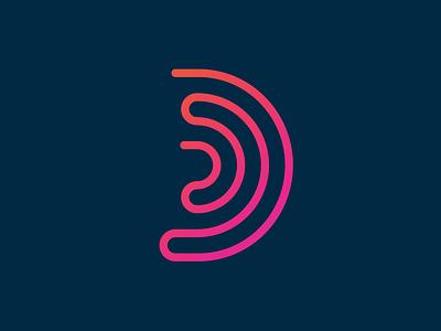 Dwell 02 waveform wave sound logo dwell branding brand identity bible d ear audio