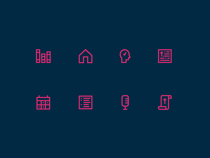 Dwell icons