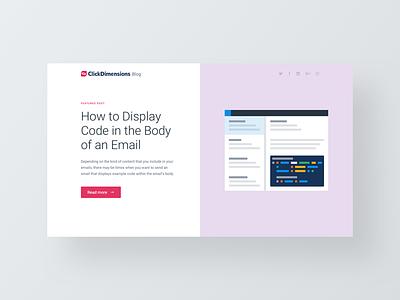 Illustration Style ux ui branding email html code illustration hero web design website blog