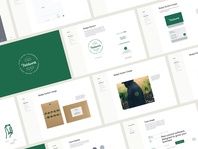 Fieldwork Brand Guidelines typography icon packaging hand lettering script logo brand identity style guide guidelines branding focus lab
