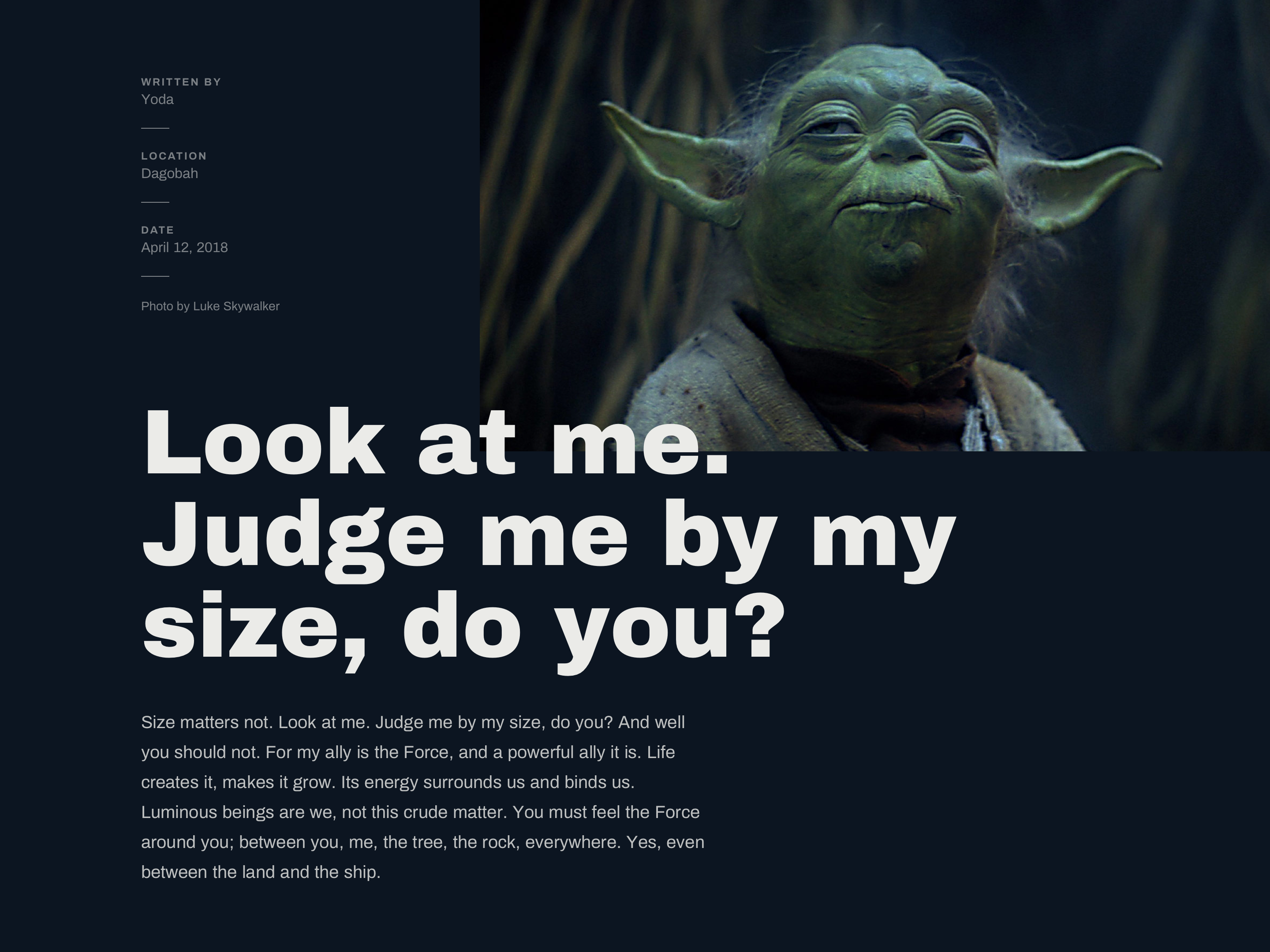 193c5f2e4f0 By joshua krohn views back to project yoda archivo png 2880x2160 Yoda land