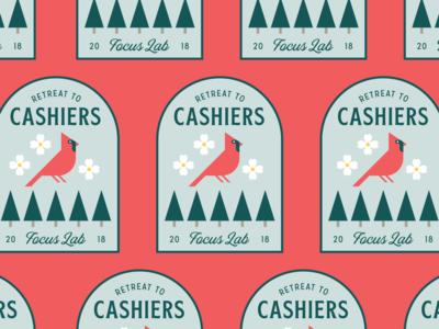 Cashiers Cardinal Patch