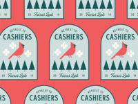Cashiers Cardinal Patch