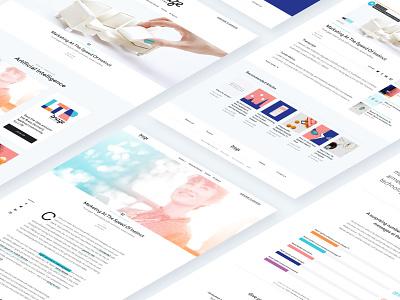 Braze Case Study article blog website design ux ui typography focus lab branding