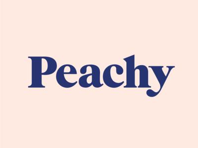 Peachy Logotype