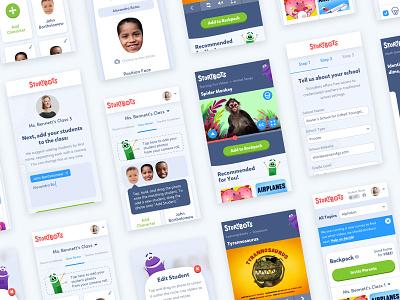 StoryBots Case Study responsive storybots app mobile web design website ui logo focus lab branding