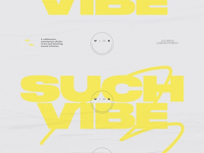 SUCH VIBE funk squiggly serf sans serif sabon vibe texture tumblr druk smiley face illustration typography