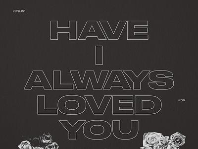 IXORA monochrome poster druk tumblr typography copeland emo flowers dark brutalism lyrics