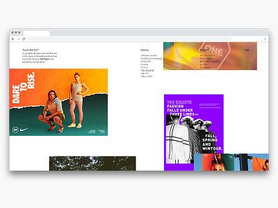 2019 ux ui endless swiss typography tumblr design branding collage grid web
