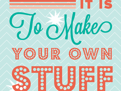 Oh What Fun ecard email typography