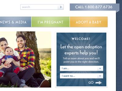 Homepage web design user interface interface menu web website ui navigation ux