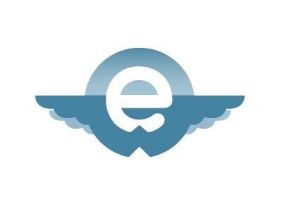 E Wings logo icon social avatar brand