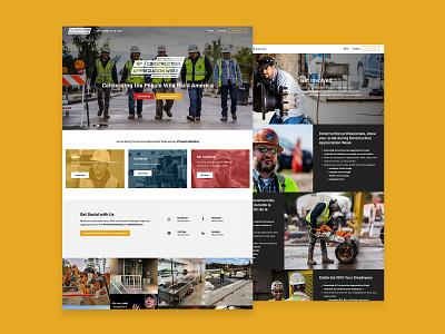 Construction Appreciation Week website design wordpress ux design web design