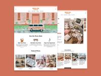 Picnics in the City Website Design