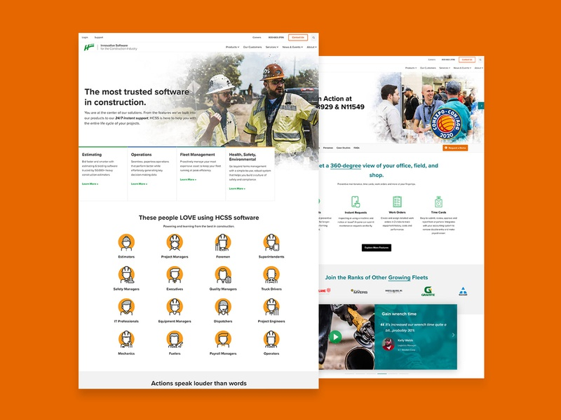 HCSS 2020 Website Design