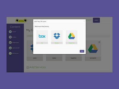 Jumpix Dashboard - Add New Service scss ruby on rails front-end development ui ux web design website design