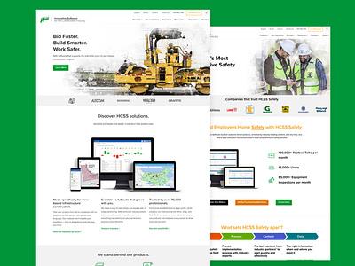 HCSS 2018 Website Design design web ux wordpress web design