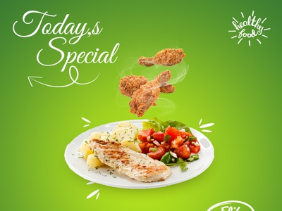 Food Banner Design design photoshop