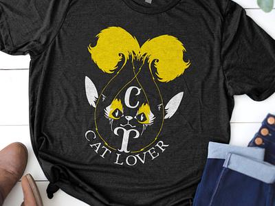 Cat_T-Shirt_Design creative design adobe illustrator illustration editable file concept t-shirt