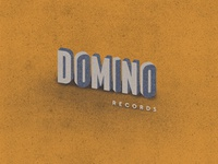 Domino Records By Ben Geier Dribbble Dribbble