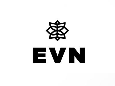 Evn Logo Design retail logo clothing retail logo minimal mark india logo simple logo minimal brand strategy minimal logo brand strategy branding brand design logo design logo