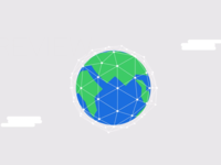 Digitally Connected Globe