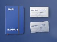 IKARUS Business Cards & Moleskin