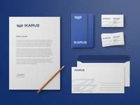 IKARUS complete brand identity
