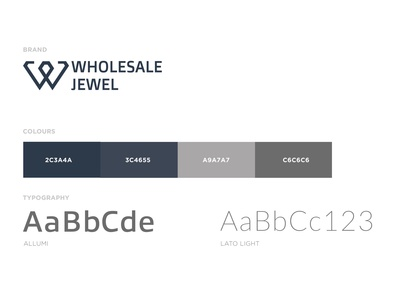 Wholesale Jewel Brand Identity