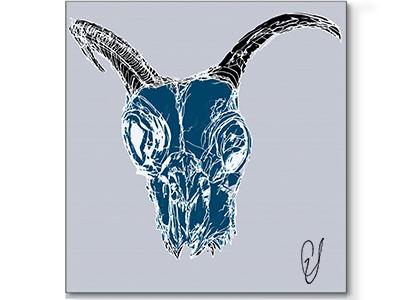 Digital illustration / Digital art - Blue Angel