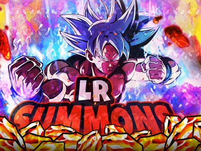 UI GOKU THUMBNAIL!! illustration design