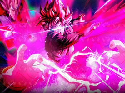 Goku Black Thumbnail! thumbnail design design