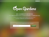 Opengardens launch